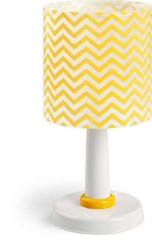 Lámpara de mesa amarilla, Amarillo