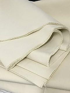 schweres Segeltuch 100% Baumwolle Natur-weiß 172 cm breit, Meterware Zeltstoff Zelt Stoff Tipi Mittelalter Sonnensegel 1,72m breit