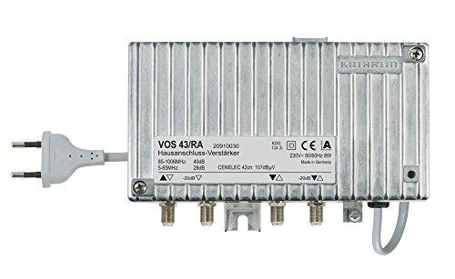Kathrein VOS 43/RA Hausanschluss-Verstärker Silber