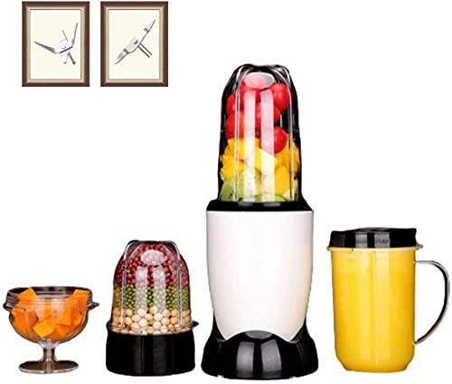 HYLK Blender And Food Processor, Power Grinder With Stainless Steel Blades Milkshake And Smoothie Ice, making smoothies, protein shakes and more,4 cups 4 knives