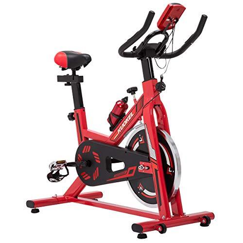 KUOKEL K608 Bicicleta de Spinning Bicicleta estática con Rueda de inercia...