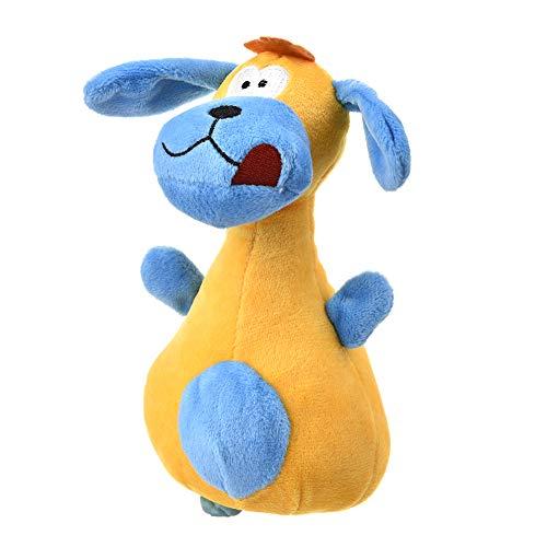 hhuanxiao Haustier Spielzeug Schöne große Ohren Hund Bowling Pin Form Spielzeug Plüsch Spielzeug Sicherheit Vocal Spielzeug Haustier Katze und Hund Spaß Haustier liefert