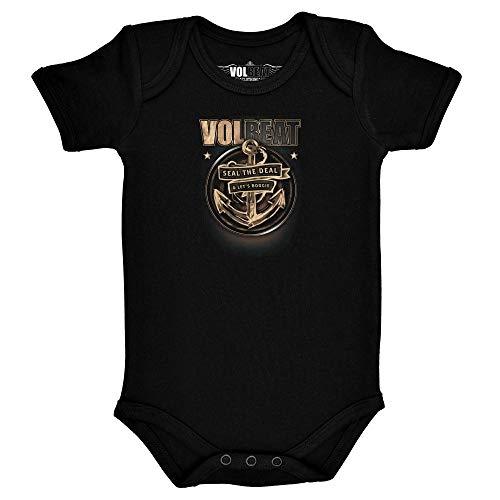 Metal-Kids Volbeat (Anchor) - Baby Body Größe 56/62