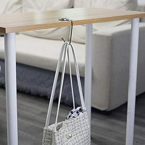 DUANYAN Hanger Table Holder Womens Bag Swivel Top Purse Hanger
