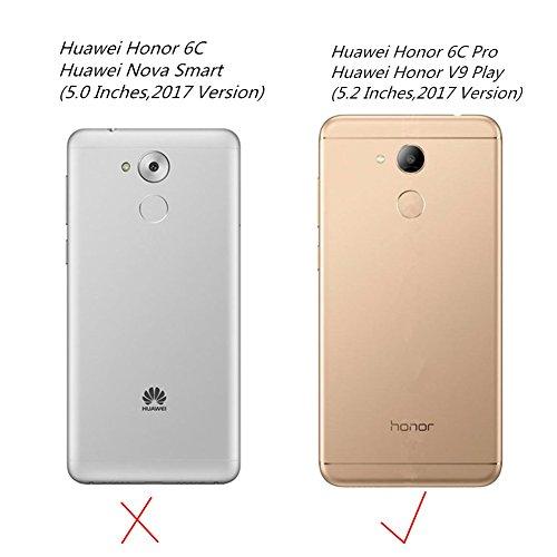 XMTN Huawei Honor 6C Pro,Huawei Honor V9 Play 5.2