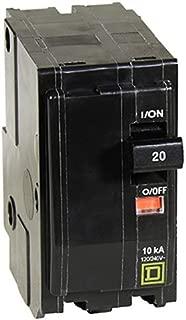 Best square d double pole 20 amp breaker Reviews