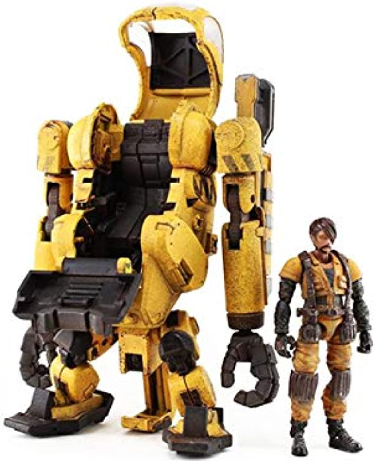 Acid Rain Laurel Worker with Pilot 1 18 Action Figure