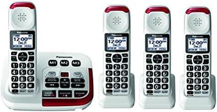 Panasonic KX TGM420W Amplified Cordless Phone 4 Handsets product image