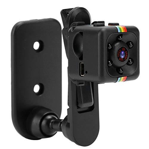 Mxzzand Videocámara de cámara 1080P Duradera compacta Mini grabadora de Video Inteligente con detección de Movimiento de visión Nocturna
