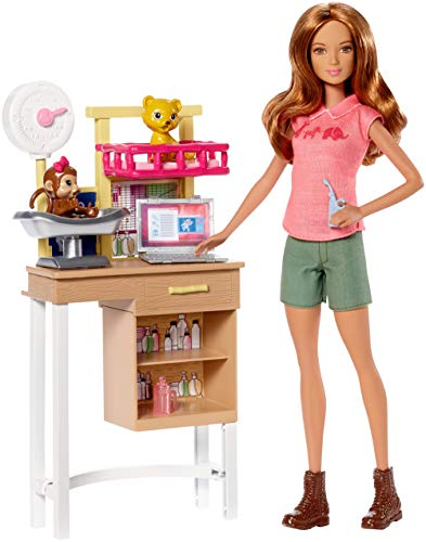 Barbie Careers Zoo Doctor Doll & Playset