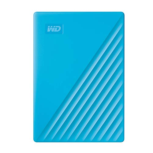 WD 4TB My Passport Portable External Hard Drive, Blue - WDBPKJ0040BBL-WESN