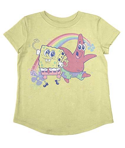 Jumping Beans Toddler Girls Spongebob Besties SS Tee 5T Yellow
