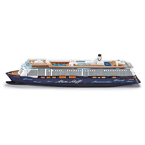 SIKU 1724, Kreuzfahrtschiff Mein Schiff 3, 1:1400, Metall/Kunststoff, Blau/Weiß, Nicht schwimmfähig