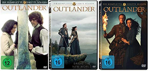 Outlander Staffel 3-5 (3+4+5, 3 bis 5) [DVD Set]