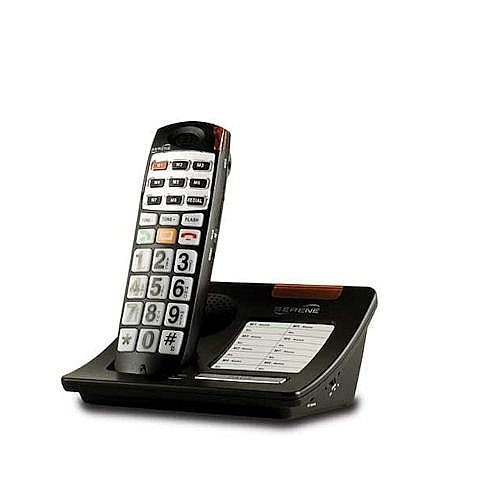 YBS Serene Innovations DECT 6.0 Expandable Amplified Big Button Talking Telephone