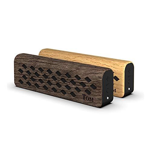 Ukulele Amp Mini | TOM Multiuse and Portable Amplifier for Electric Ukulele, Kalimba etc. Premium Wooden Instrument Amplifier and Portable Wireless Loudspeaker (MO-WN)