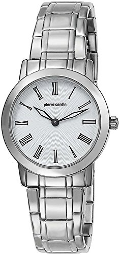 Pierre Cardin Women's Quartz Watch with Silver Dial Analogue Display and Silver Stainless Steel Bracelet PC104802S05