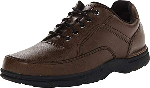 Rockport Men's Eureka Walking Shoe, Brown, 11 2E US