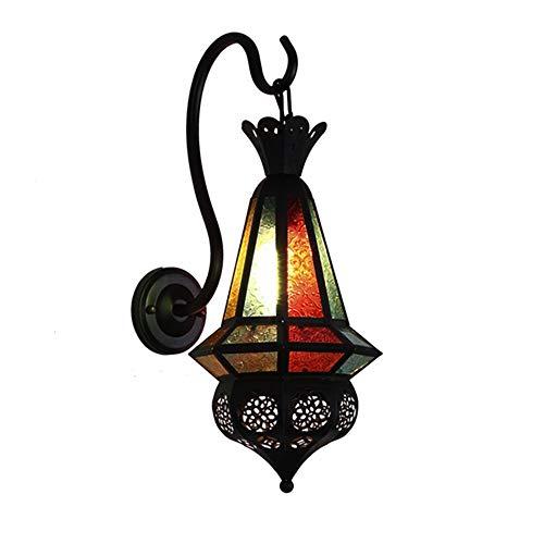 Aussenlampe Wandbeleuchtung Wandlampe Wandleuchte Innen Marokkanisches Vintage Cafe Bar Persönlichkeit Restaurant Mediterran