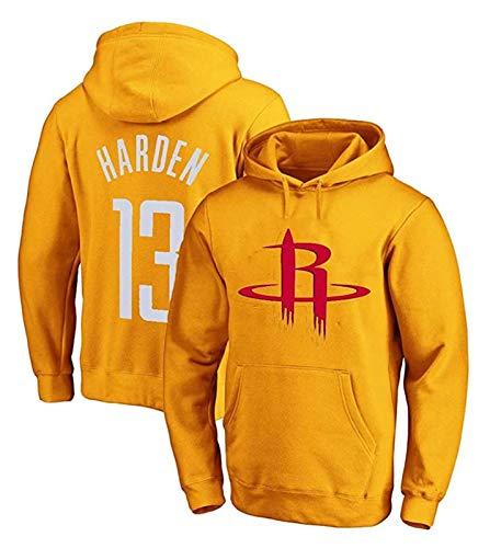 XIETARPAULIN Jersey, James Harden #13 Houston Rockets, playera de baloncesto para hombre, con capucha para entrenamiento, sudadera con capucha (talla mediana)