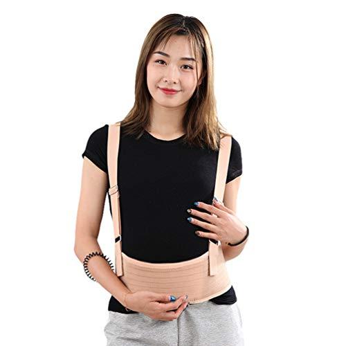 Rengzun Schwangerschaftsgurt Bauchstütze Umstandsgürtel Atmungsaktive Einstellbar MutterschaftsgüRtel Mit Abnehmbaren Schultergurten