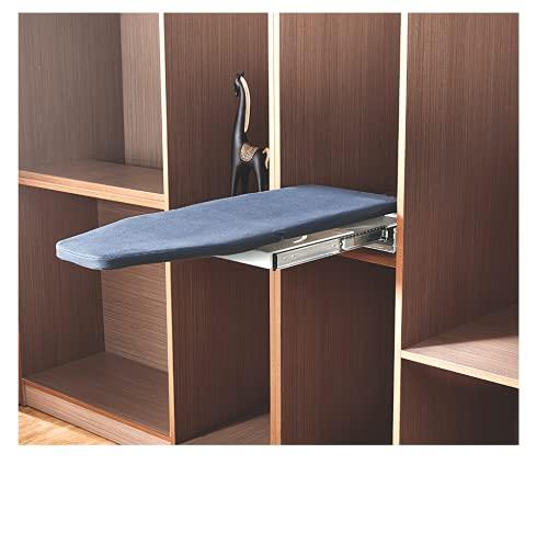 Nisko Tabla de planchar plegable extraíble y giratoria para armario, armario –...