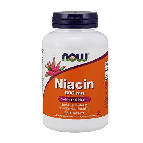 NIACIN 500mg - 250 tabs