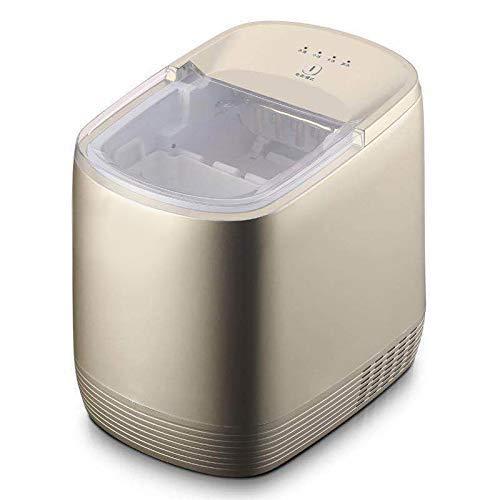 QWEAS Kommerzielle Kleine Eismaschine, 15kg / 24h 1.9L Wassertank automatische EIS-Würfel-Hersteller-Maschine Intelligente Eismaschine Hausgebrauch