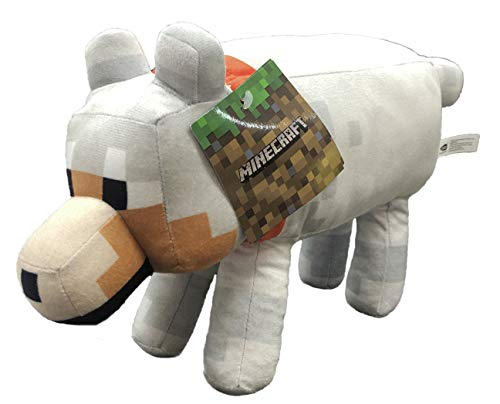 Minecraft - Peluches 30cm Lobo - Calidad soft