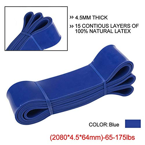 Heavy Duty Widerstandsbänder Loop Power GymFitnessübungYoga Workout Pilates WorkoutDehnen Widerstandstrainingsbänder65-175lbs