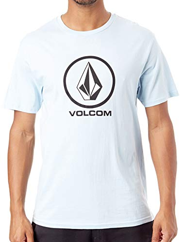 Volcom Crisp Stone BSC SS T-Shirt Manches Courtes Homme, Arctic Blue, FR : S (Taille Fabricant : S)