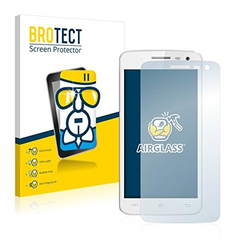 BROTECT Panzerglas Schutzfolie kompatibel mit Elephone G3 - AirGlass, extrem Kratzfest, Anti-Fingerprint, Ultra-transparent