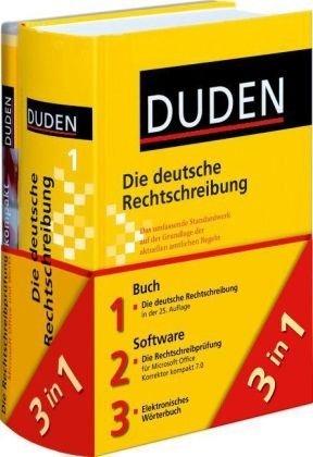 Duden 01. Die deutsche Rechtschreibung plus Duden Korrektor kompakt 7.0: Das umfassende Standardwerk auf der Grundlage der aktuellen amtlichen Regeln