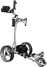 Bat-Caddy X4R Sport Remote Control Cart w/ Free Accessory Kit, 35Ah, White