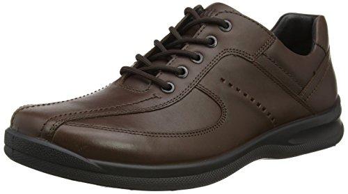 Hotter Lance, Zapatos de Cordones Oxford para Hombre Marrón (Dk Brown) 41.5 EU