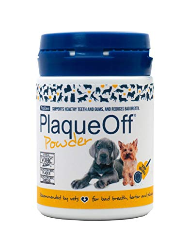 ProDen PlaqueOff Powder  Supports Normal, Healthy Teeth, Gums, and Breath Odor in Pets  60 g