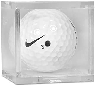 BCW 1 (One) Single Golf Ball Square/Cube - Holder/Display Case!
