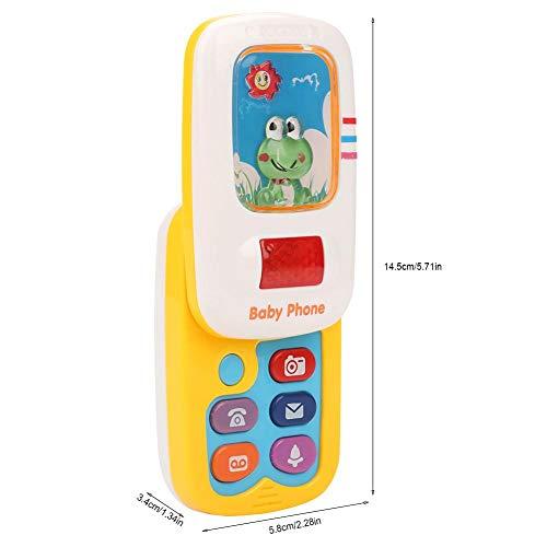 Juguete plástico del teléfono móvil del bebé, juguete del teléfono móvil, para los niños de las niñas bebés de los niños