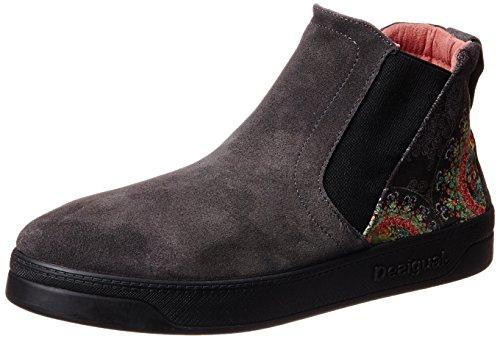 Desigual Damen Shoes SWETTY 2 Schlupfstiefel, Grau (2006 GRIS Oscuro), 36