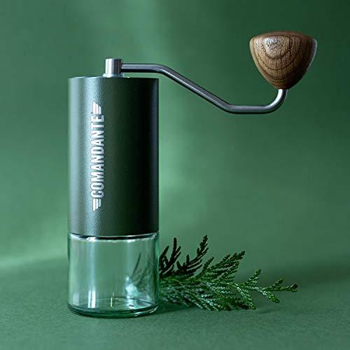 Kaffeemühle C40 MK3 Nitro Blade Grün Edelstahl von COMANDANTE
