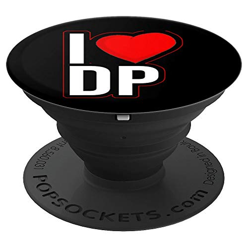 I Love Double Penetration During Sex Love DP BDSm Kinky PopSockets Supporto e Impugnatura per Smartphone e Tablet