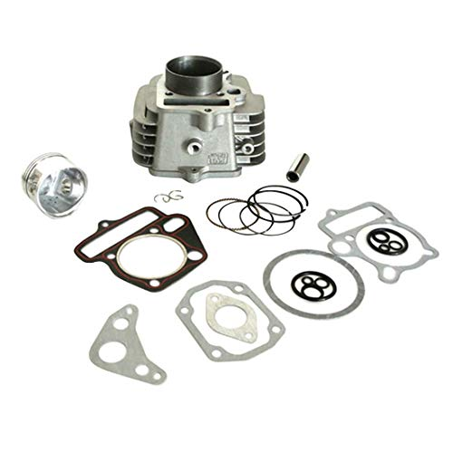 sthus Engine Rebuild Kit 52.4MM Cylinder Barrel Piston Gasket For 125CC LIFAN DirtBike