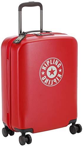 Kipling CURIOSITY S Equipaje de mano, 55 cm, 44 litros, Rojo (Lively Red)