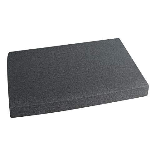 HMF 1456-60 Rasterschaumstoff Würfelschaum | 345 x 550 mm | Double-Size | Koffereinlage | Tabletop | Höhe: 60 mm
