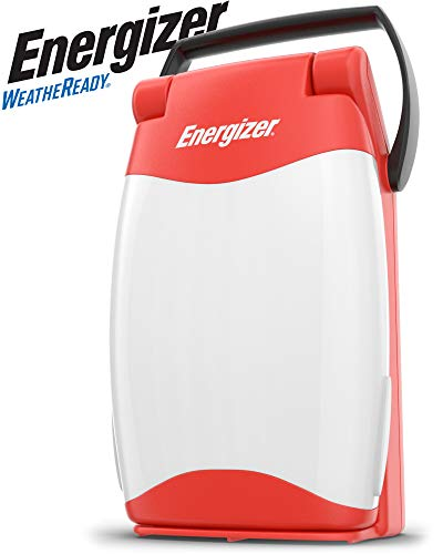Energizer Folding Area Lantern, Red (FL452WRBP)