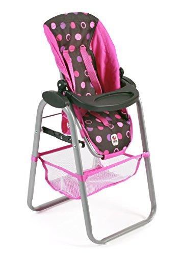 Bayer Chic 2000 655 48 – Chaise Haute de poupée, Pinky Balls
