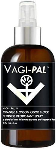 Boston Selling rankings Mall Vagi-Pal Orange Blossom Odor Block Freshener Spray Vagina