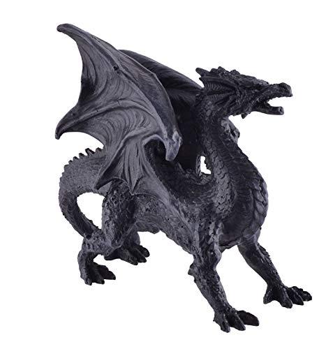 Joh. Vogler GmbH decoratieve drakenfiguur drakenartikel staand met schommelingen 21 cm Gothic figuur draken Dragon