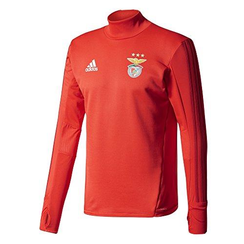 adidas Herren Benfica Lissabon Trainingsoberteil Trainingstop, Benred/Powred, XL