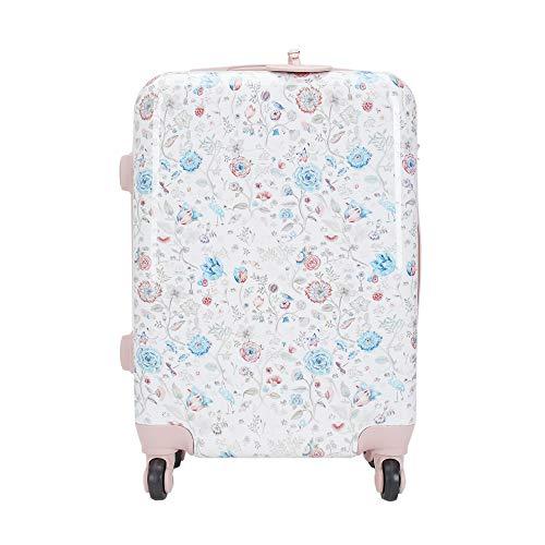 Parfois - Trolley Petal Travel - Mujeres - Tallas S - Rosa